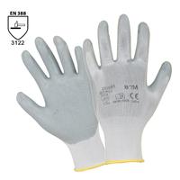 Pracovné rukavice BRAD máčané v nitrilovej pene