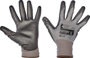 Pracovné rukavice BRAMBLING máčané v polyuretáne