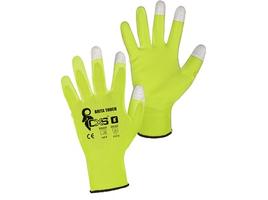 Pracovné rukavice BRITA TOUCH máčané s blistrom
