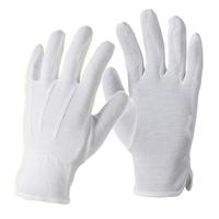 Pracovné rukavice BUDDY textilné s PVC terčíkmi