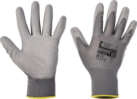 Pracovné rukavice BUNTING EVOLUTION GREY máčané v polyuretáne