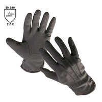 Pracovné rukavice BUSTARD textilné povrstvené terčíkmi