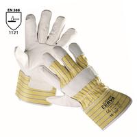 Pracovné rukavice CROW kombinované