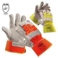 Pracovné rukavice CURLEW kombinované