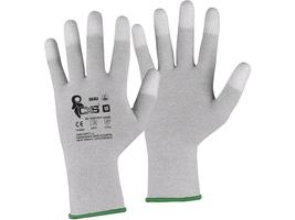 Pracovné rukavice CXS SILOLI antistatické ESD