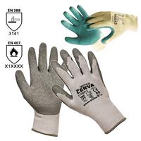 Pracovné rukavice DIPPER máčané v latexe