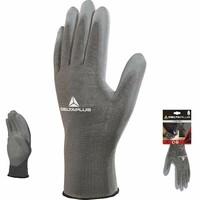 Pracovné rukavice DPVE702PG máčané v polyuretáne (blister)