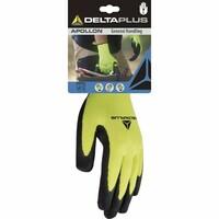 Pracovné rukavice DPVV733 máčané v latexe (blister)