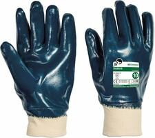 Pracovné rukavice DUBIUS máčané v nitrile