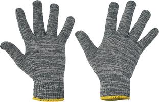 Pracovné rukavice FF BULBUL LIGHT HS-04-013 textilné pletené
