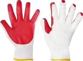 Pracovné rukavice FF REDWING LIGHT HS-04-007 máčané v latexe
