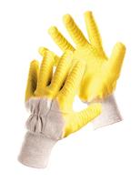 Pracovné rukavice FF TWITE LIGHT HS-04-005 máčané v latexe