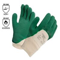 Pracovné rukavice GLADIATOR 16-500 (Ansell) máčané v zvlnenom latexe