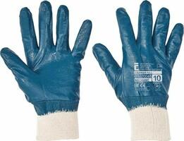 Pracovné rukavice HARRIER FULL máčané v nitrile