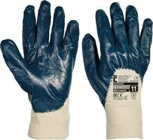 Pracovné rukavice HARRIER máčané v nitrile