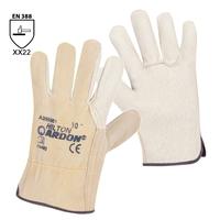 Pracovné rukavice HILTON celokožené