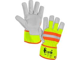 Pracovné rukavice HIVI kombinované