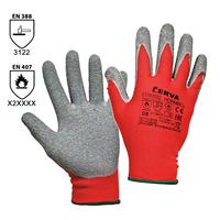 Pracovné rukavice HORNBILL pogumované