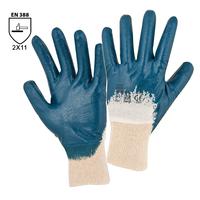 Pracovné rukavice HOUSTON máčané v nitrile