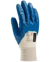 Pracovné rukavice HOUSTON máčané v nitrile (s blistrom)