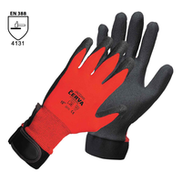 Pracovné rukavice JACDAW máčané v PVC