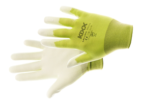 Pracovné rukavice LIKE LIME máčané v polyuretáne