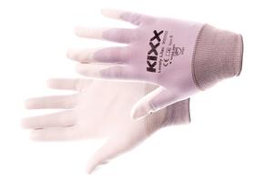 Pracovné rukavice LOVELY LILAC máčané v polyuretáne