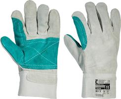 Pracovné rukavice MAGPIE FULL celokožené
