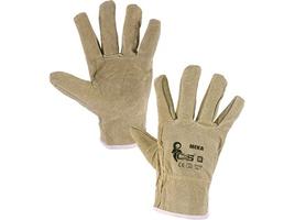 Pracovné rukavice MEKA celokožené