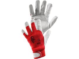 Pracovné rukavice MIKE detské kombinované
