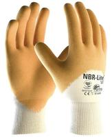 Pracovné rukavice NBR-LITE 34-985 máčané v nitrile