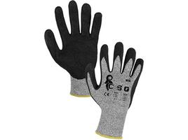Pracovné rukavice NITA máčané s pieskovou úpravou