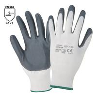 Pracovné rukavice NITRAX BASIC máčané v nitrile