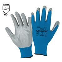 Pracovné rukavice NITRAX máčané v nitrile