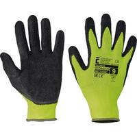 Pracovné rukavice PALAWAN máčané v latexe - s blistrom