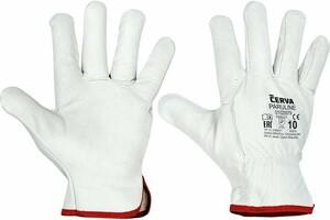 Pracovné rukavice PARULINE celokožené