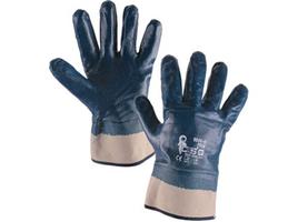 Pracovné rukavice PELA máčané v nitrile
