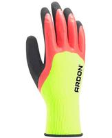 Pracovné rukavice PETRAX DOUBLE máčané v latexe