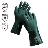 Pracovné rukavice PETREL máčané v PVC