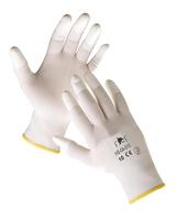 Pracovné rukavice PORZANA FH TOUCH Hi-Vis máčané v nitrile reflexná oranžová