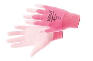 Pracovné rukavice PRETTY PINK máčané v polyuretáne