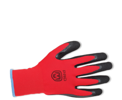 Pracovné rukavice PROMACHER MANOS máčané v nitrile (balenie 12 párov)
