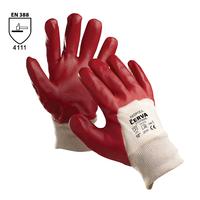 Pracovné rukavice REDPOLL máčané v PVC