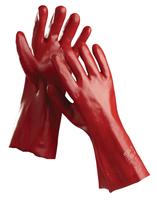 Pracovné rukavice REDSTART (RAY) 45 cm máčané