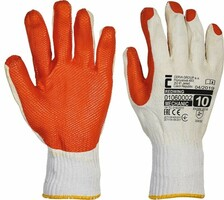 Pracovné rukavice REDWING máčané v latexe