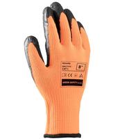 Pracovné rukavice REGARD máčané v latexe (s blistrom)
