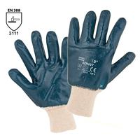 Pracovné rukavice RONNY máčané v nitrile