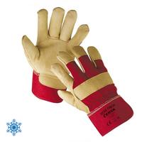 Pracovné rukavice Rose Finch cervené (dámske)
