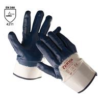 Pracovné rukavice RUFF máčané v nitrile