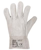 Pracovné rukavice SIMON celokožené